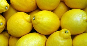 a bunch of lemons